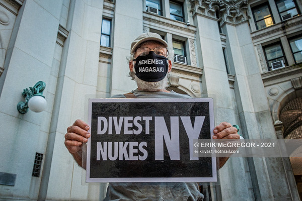 NYC Activists Campaign to Abolish Nuclear Weapons
