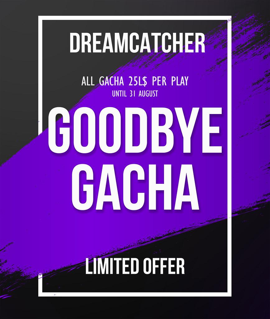 DREAMCATCHER // Goodbye gacha sale