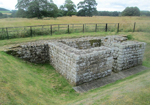 Interval Tower , Chester's Roman Fort, Cumbria