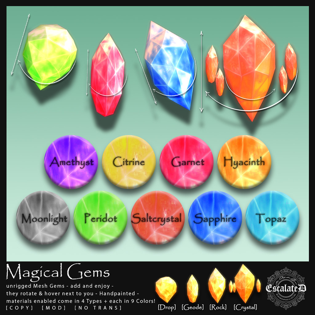 .EscalateD. Magical Gems
