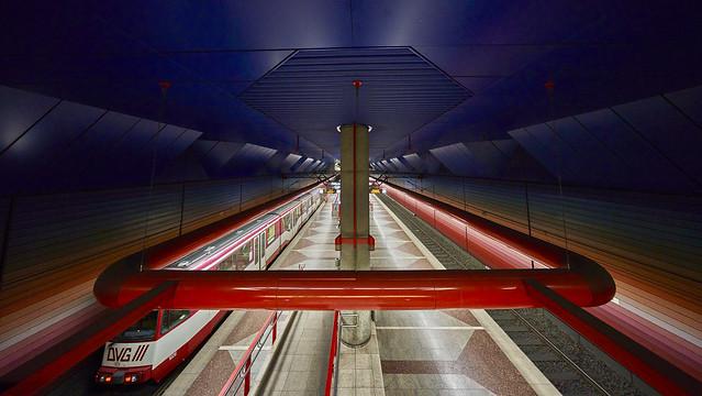 U-Bahnhof Duisburg Hbf (upper view)