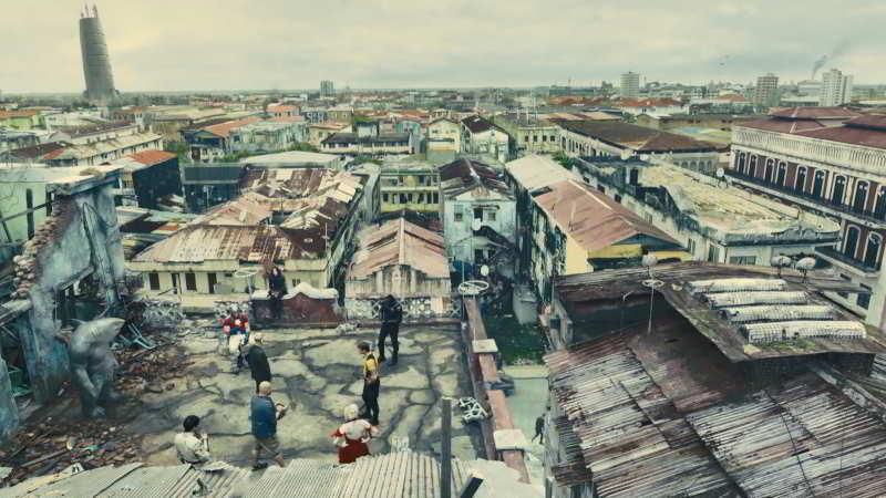 The Suicide Squad city