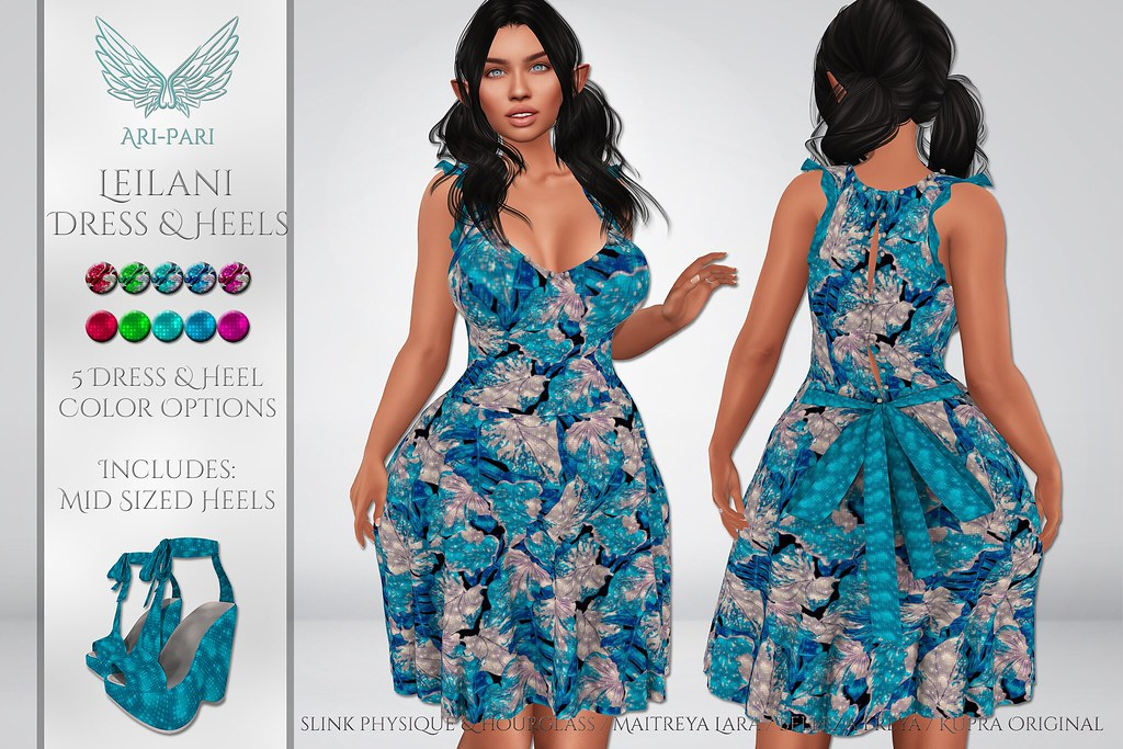 [Ari-Pari] Leilani Dress & Heels