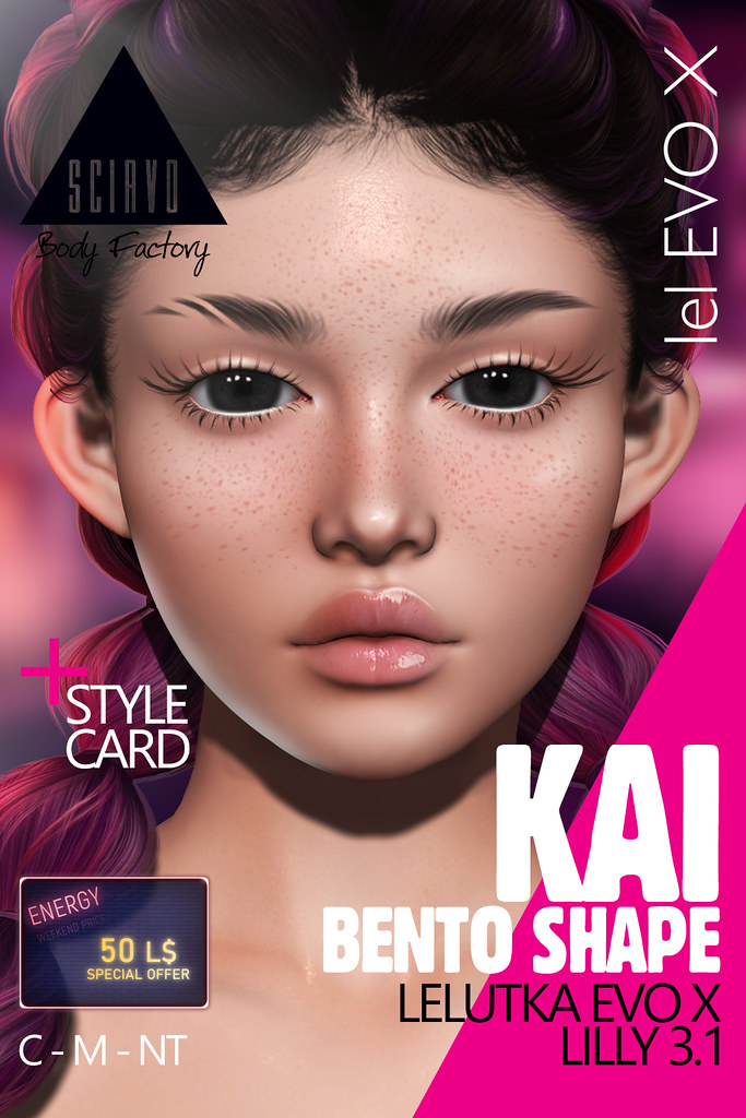 Kai Shape for Energy Weekend! Only 50L$