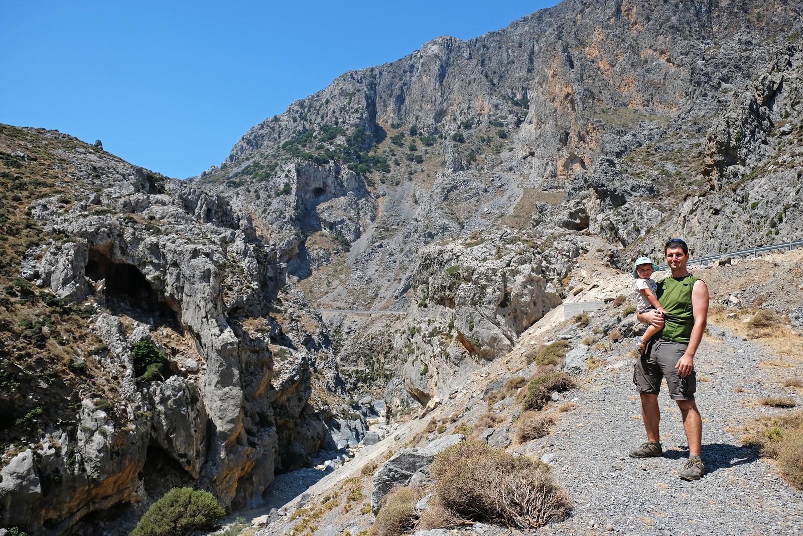 Kourtaliotiko Gorge, Crete, Greece