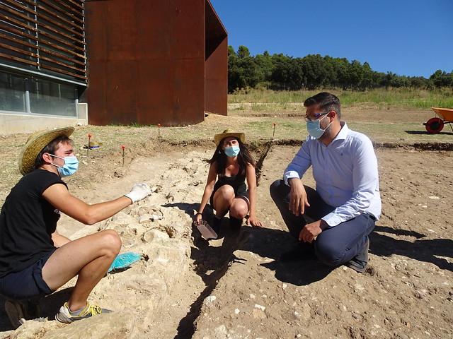 Visita el campo de voluntariado de el Yacimiento de Noheda