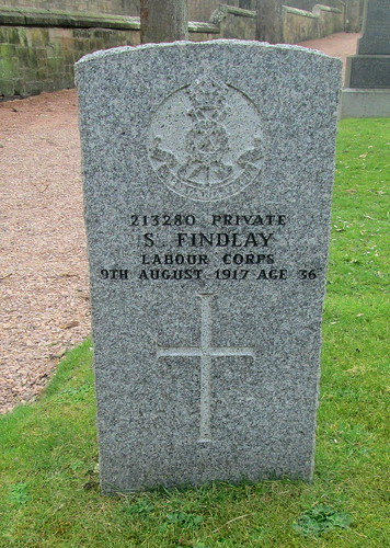War Grave, St Andrews Cathedral