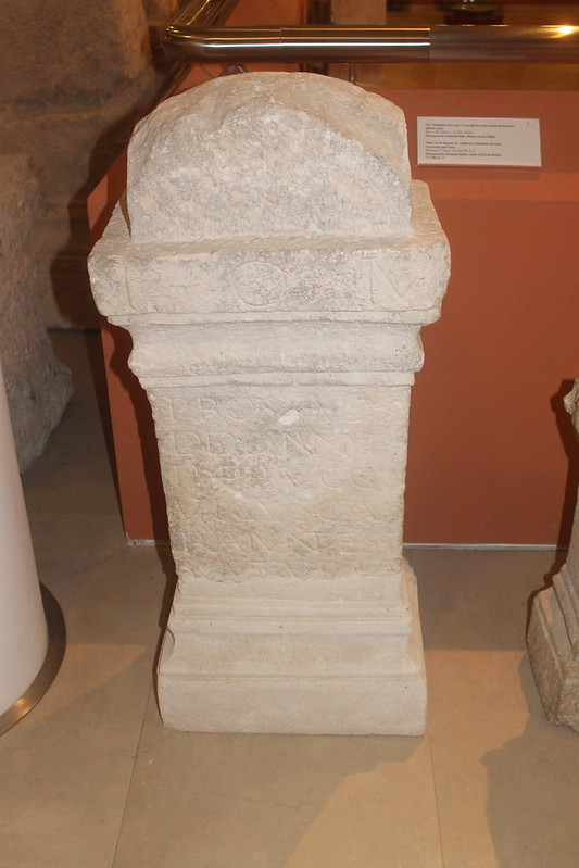 Altar to Jupiter for the welfare of Septimius Severus, Caracalla and Geta