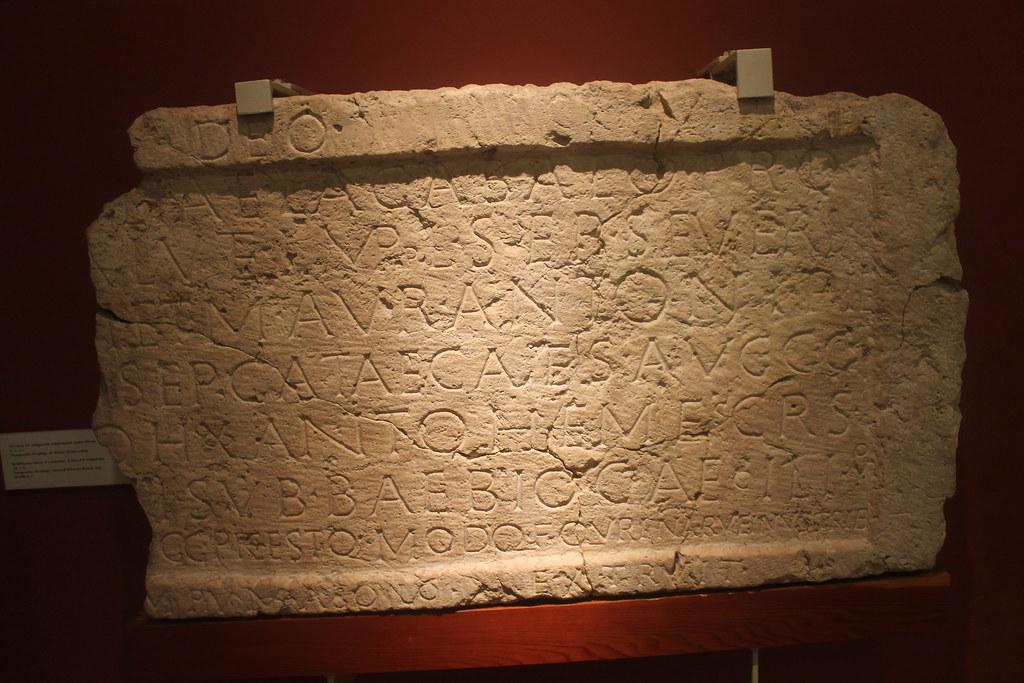 Building Inscription for a Sanctuary of Sol Elagabal