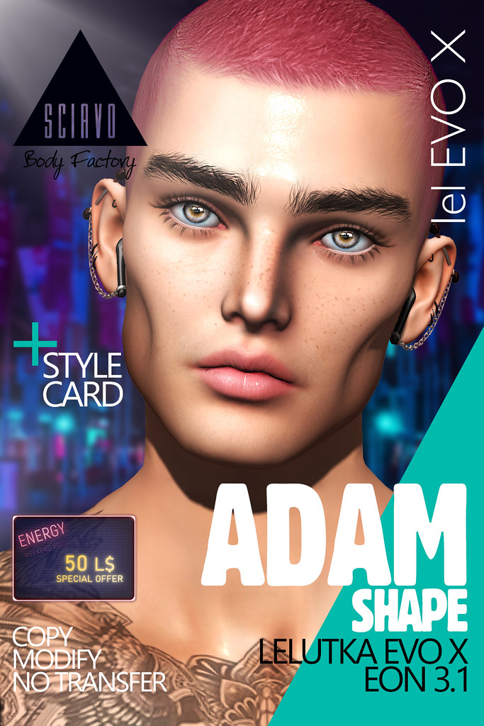 Adam Shape for Energy Weekend! Only 50L$
