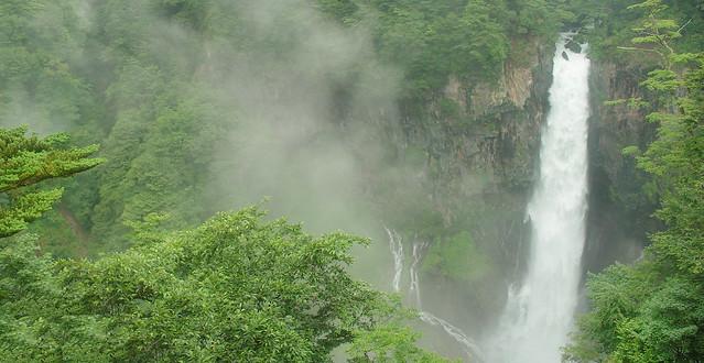 華厳の滝. Kegon Taki. Nikko (Japan)