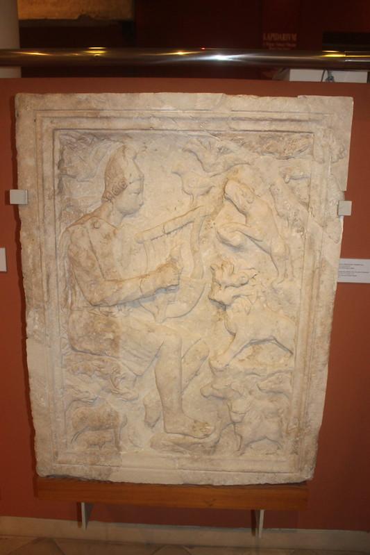 Relief of Orpheus