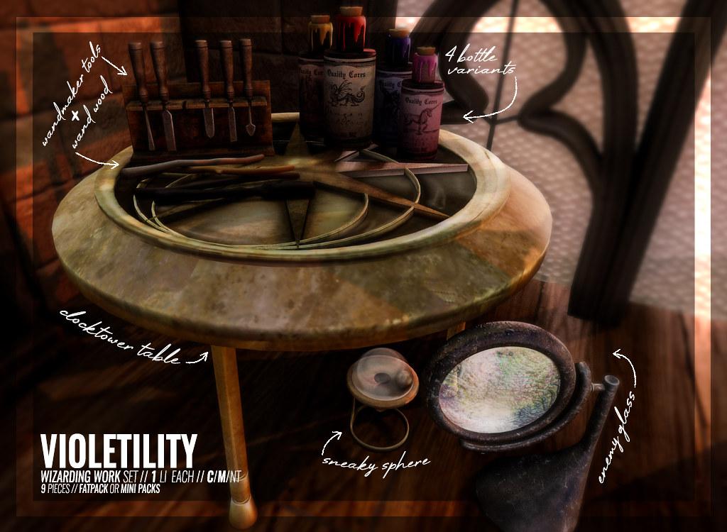 Violetility – Wizarding Work