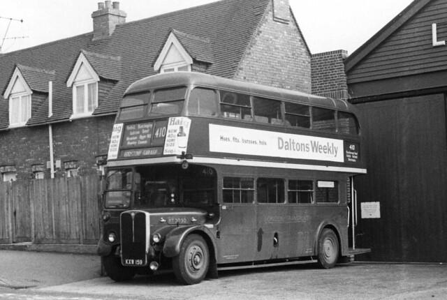 London Transport: RT3050 (KXW159) at Godstone Garage