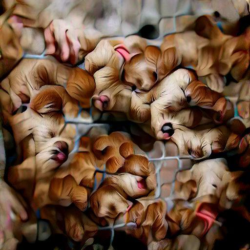 'puppies' Text2Image VQGAN Text-to-Image