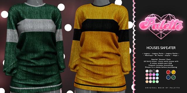 Houses Sweater @Wizarding Fair