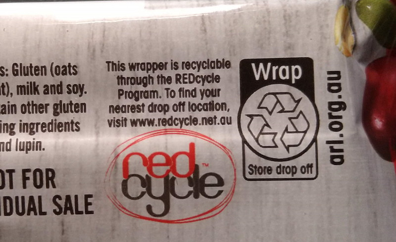 Plastic wrap recycling information