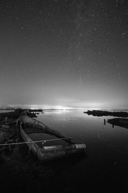 Cementiri de Barques (B&W)