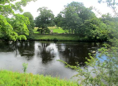 Bridge Abutment , North Tyne River, Cumbria