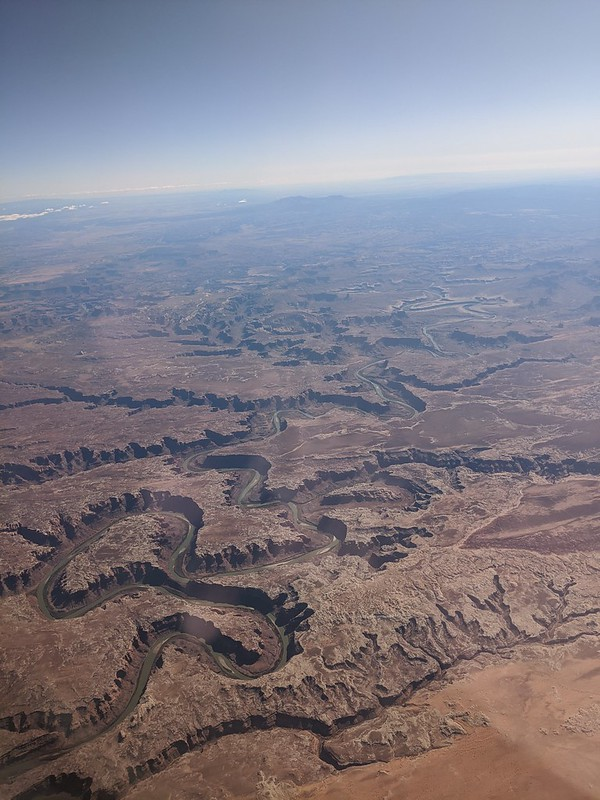 River in the desert, US west