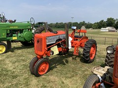 1947 Allis Chalmers type C tractor, fitted with a Chevy V8