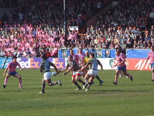 Leicester vs Stade - 1 avril 2007