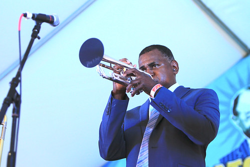 Lawrence Cotton Legendary Experience at Satchmo SummerFest 2021. Photo by Michele Goldfarb.