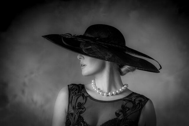 Carla in Hat