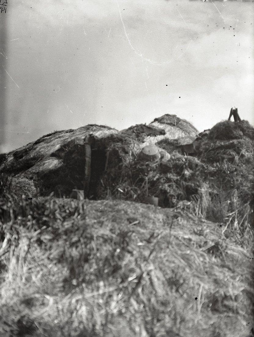 1909.12 июня. Алеутская юрта.Андреяновские острова, Атка остров.