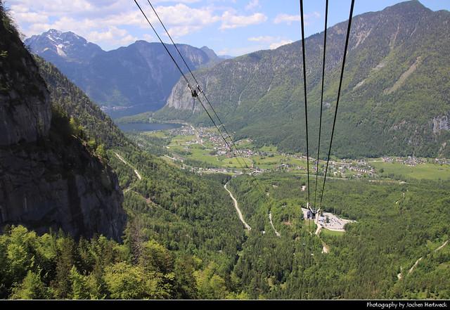 View from Krippensteinbahn, Austria