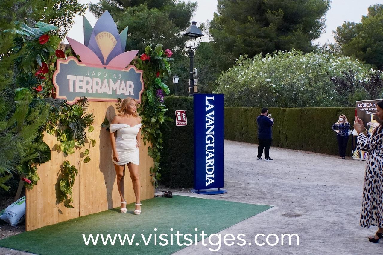 MÓNICA NARANJO EN EL FESTIVAL JARDINS TERRAMAR 2021