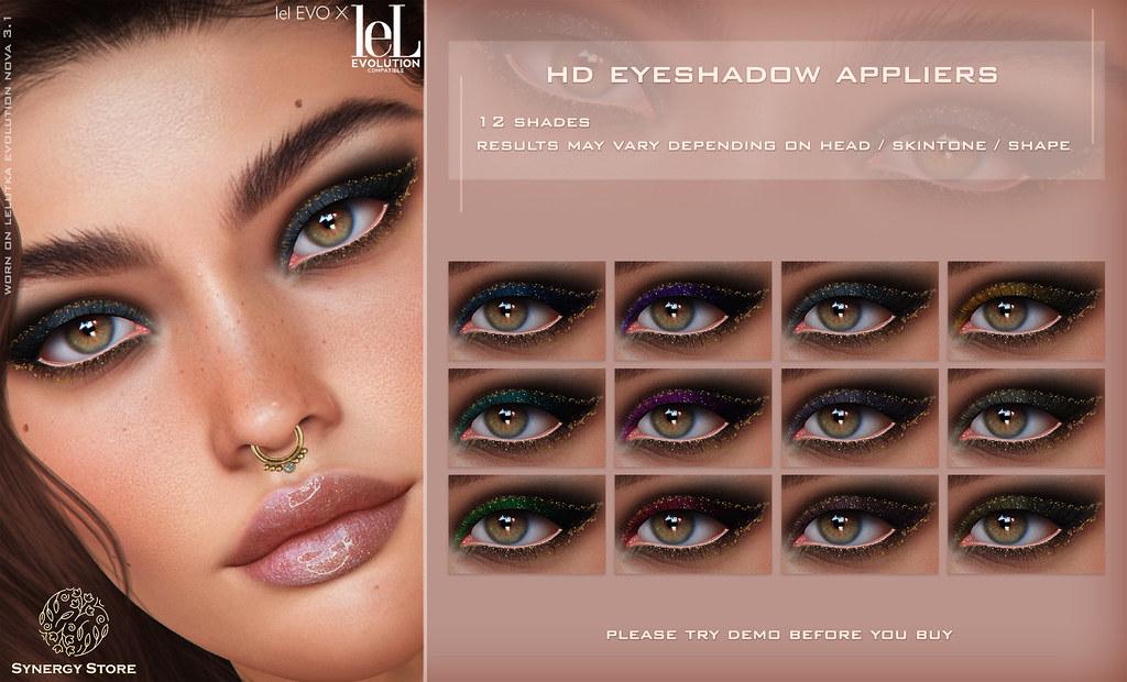 Synergy – Lelutka HD Eyeshadow Applier for EVO/EVO X heads – Forssa♥