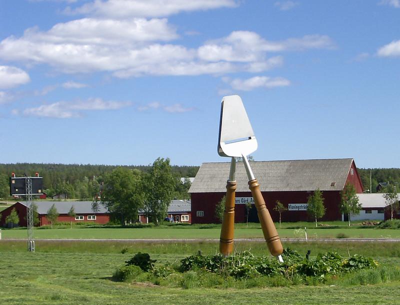 Rebanador de queso gigante