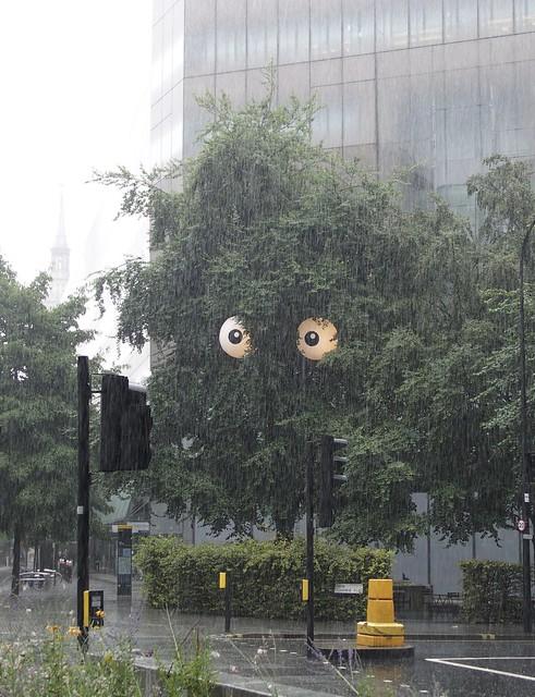 Tree creature near St Paul's