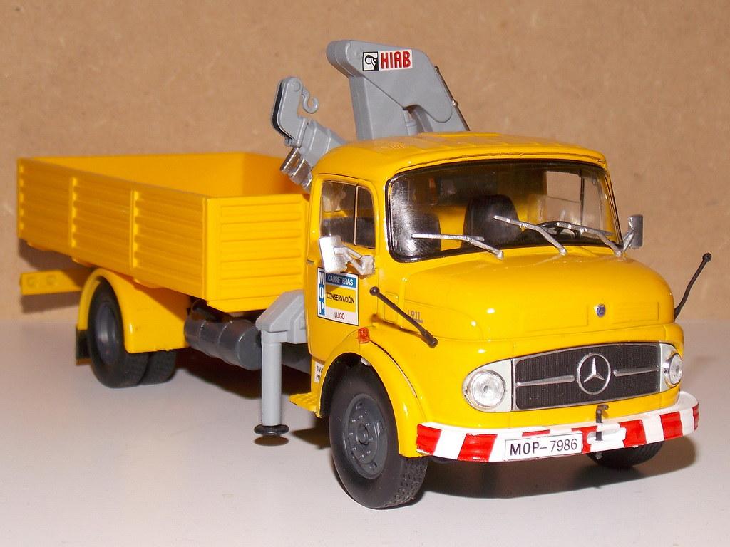Mercedes Benz L911 – MOP - 1969