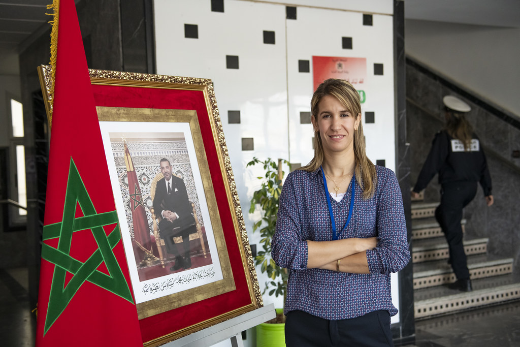 Bouchra Karboub, Police Inspector and international football referee from Morocco