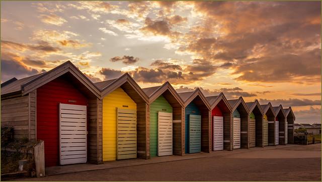 Blyth Beach Huts - In Explore