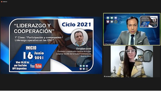 """Argentina-2021-07-14-UPF-Argentina Launches Its 2021 """"Leadership and Cooperation"""" Series"""