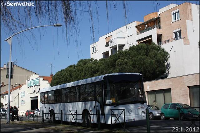 Mercedes-Benz Conecto – Courriers de la Garonne (Veolia-Transport) n°4460