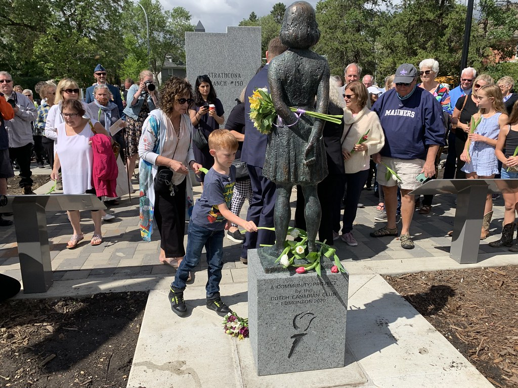 Anne Frank Statue Unveiling