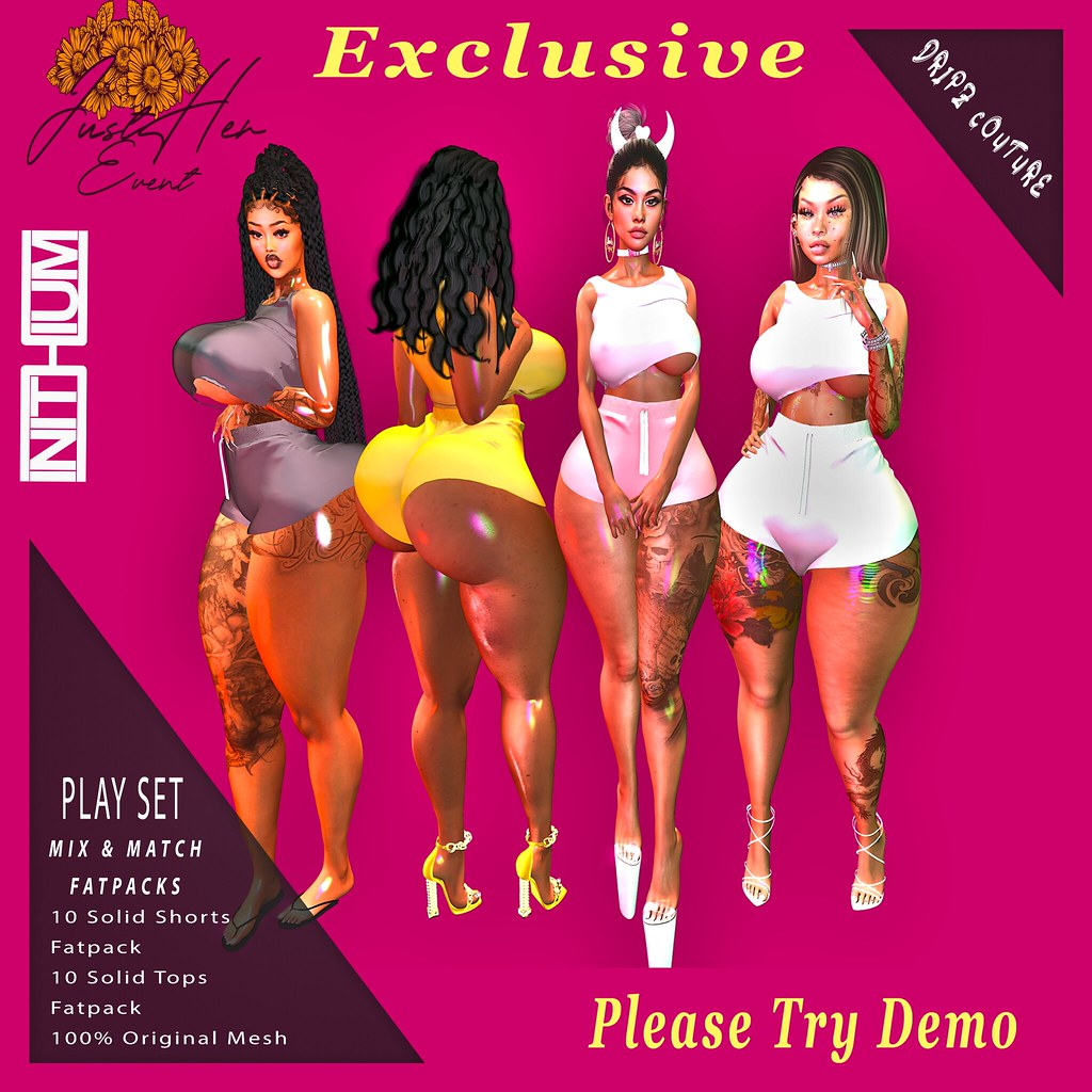 Exclusive Available Now @ JustHer Event