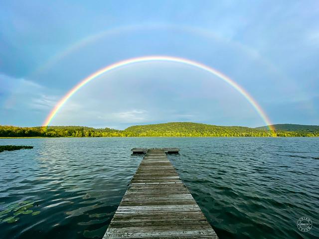 Rainbow at Rockland Lake