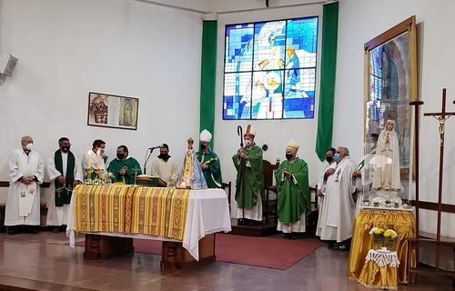 Asume párroco de Tristán Suárez y administrador de T. Suárez