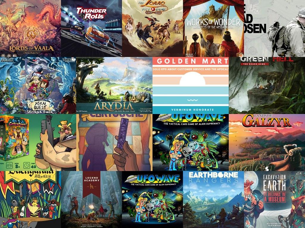Noticias - Kickstarter & Gamefound 26/07 - 8/08