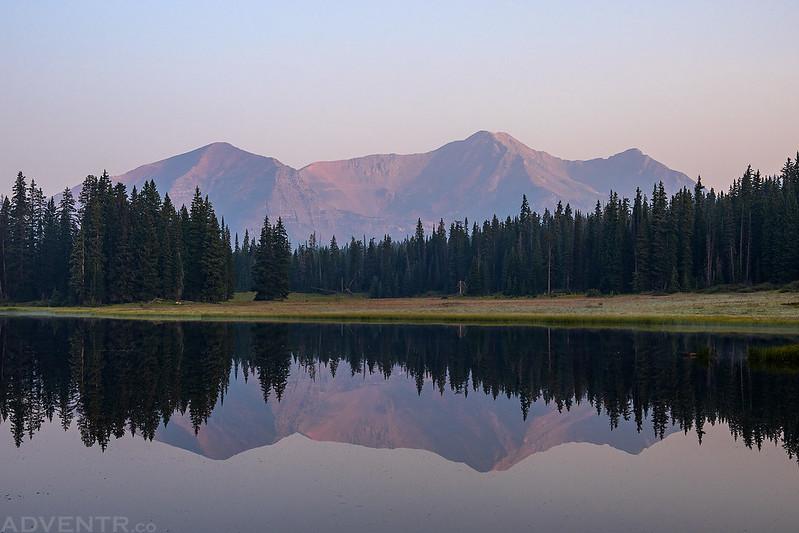 Smoky Ruby Range Reflection
