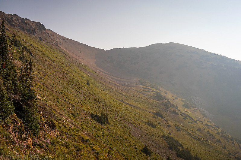 Gunsight Pass & Mount Emmons