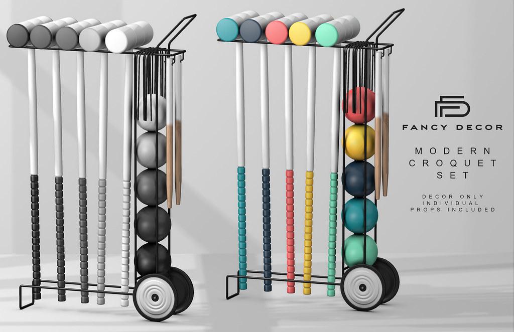 Modern Croquet Set @ Collabor88