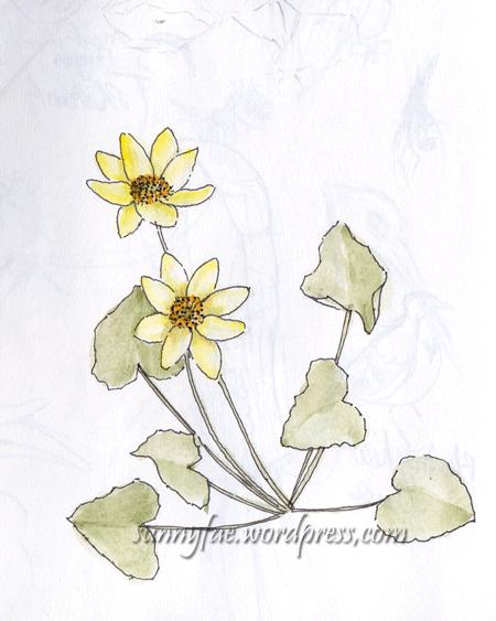 small yellow flower