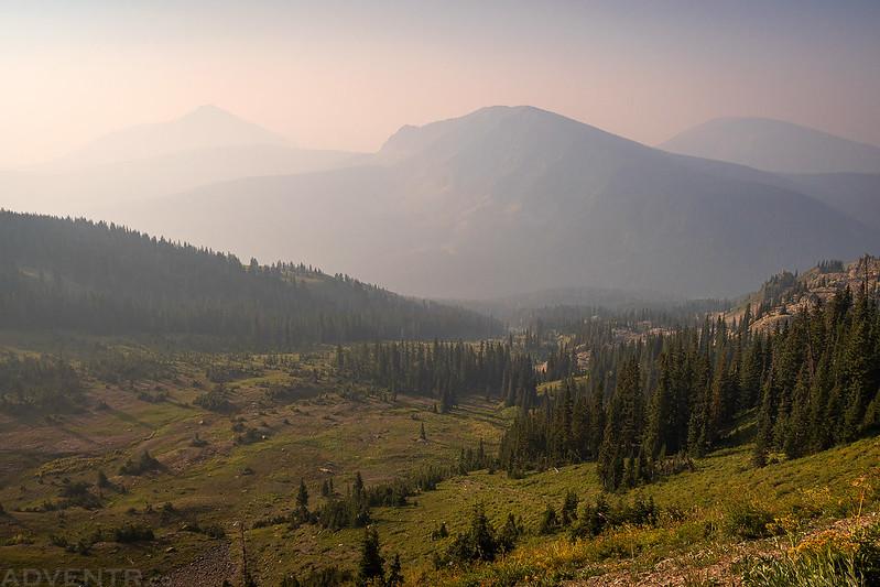 Smoky Evans Basin View