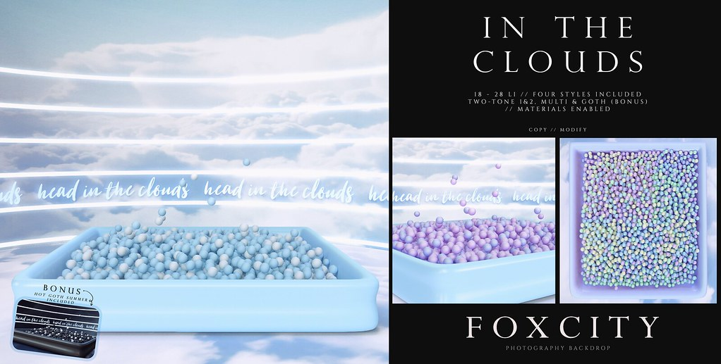 FOXCITY. Photo Booth – In The Clouds